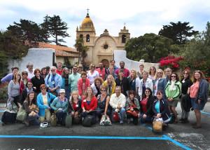 NEH Landmarks Fourteenth Colony Scholars of the Week 2 workshop of July 2013 at Mission San Carlos Borromeo, California.
